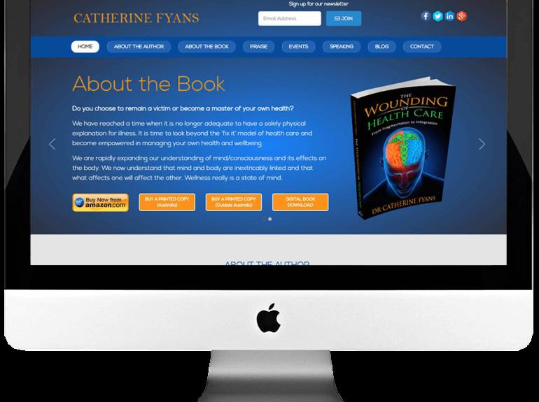 Author Custom WordPress Website Development