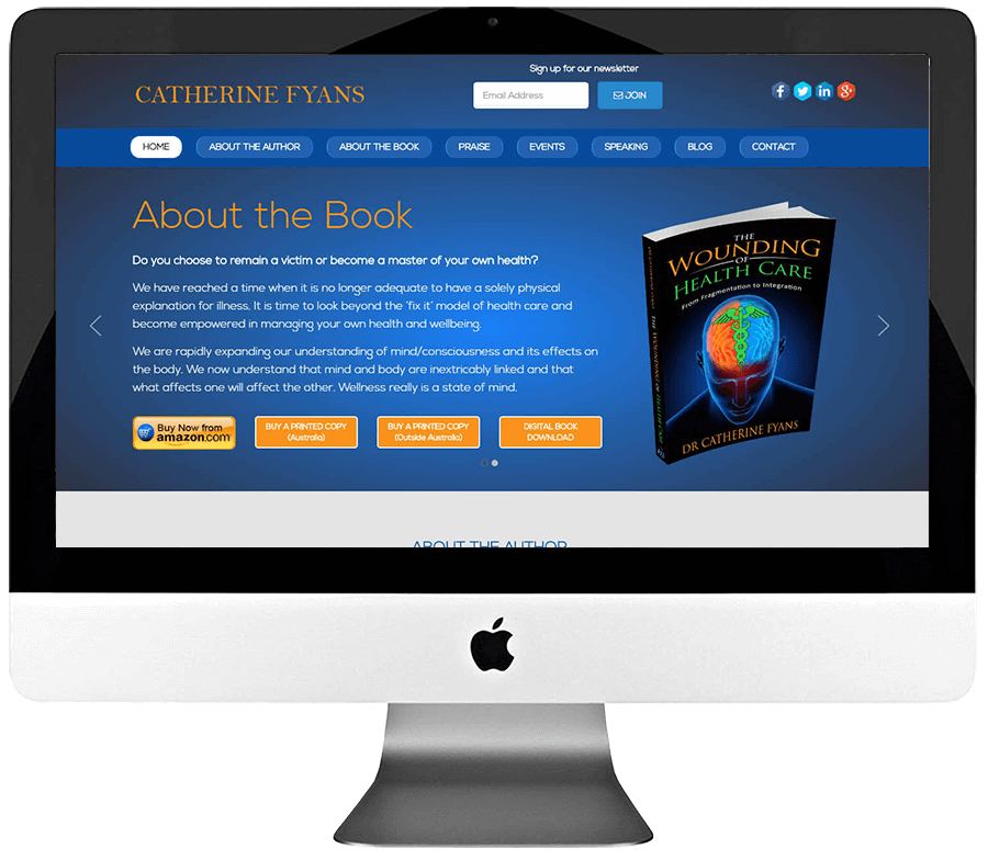 Author Custom WordPress Website Development