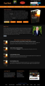 Author-Responsive-WordPress-Website