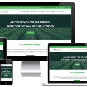 Food Processing Company Custom WordPress Web Design