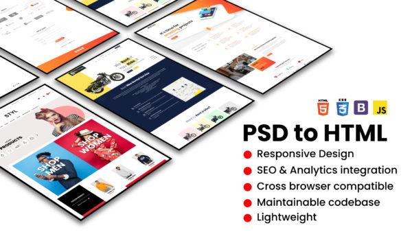 Saskatchewan PSD to HTML Conversion Services