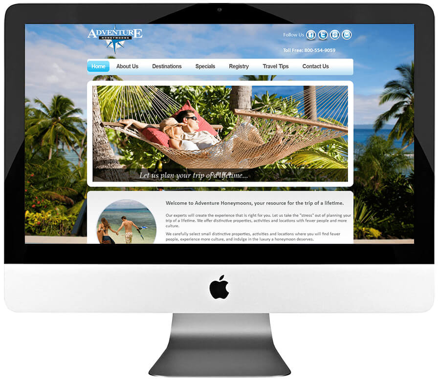 Travel Agency Custom WordPress Development