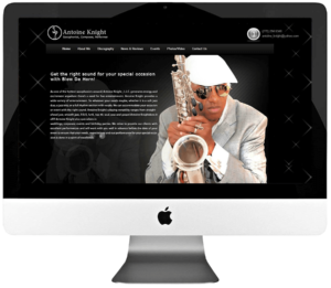 Artist Custom WordPress Web Design