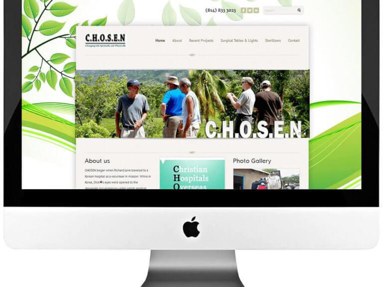 Non Profit Organization Custom Web Design