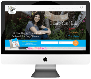 Life Coach WordPress Website Design