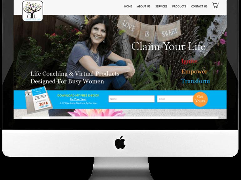 Life Coach WordPress Website Design
