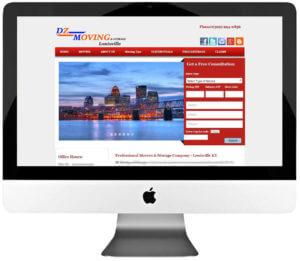 Moving & Storage Company WordPress Web Design