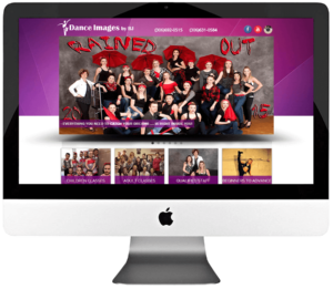 Dance Studio Responsive WordPress Web Development