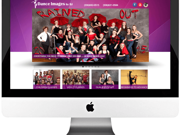 Dance Studio Responsive WordPress Web Development
