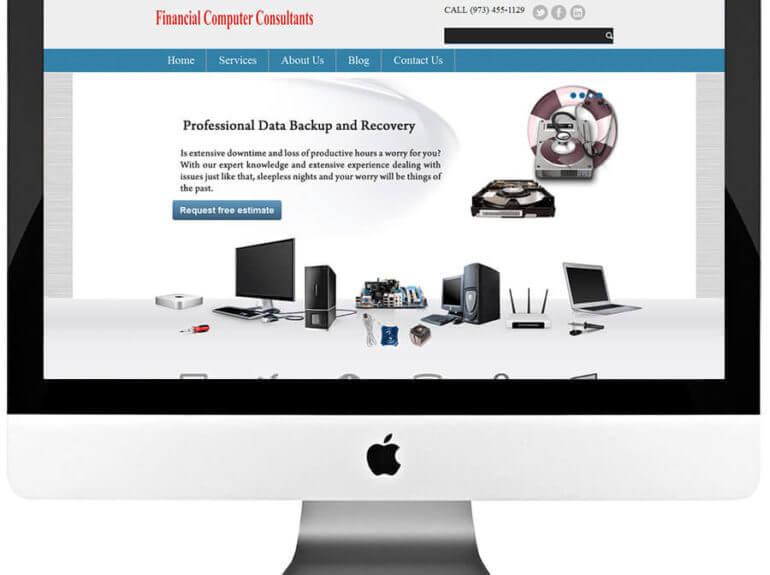 Managed IT Services Responsive WordPress Website Design