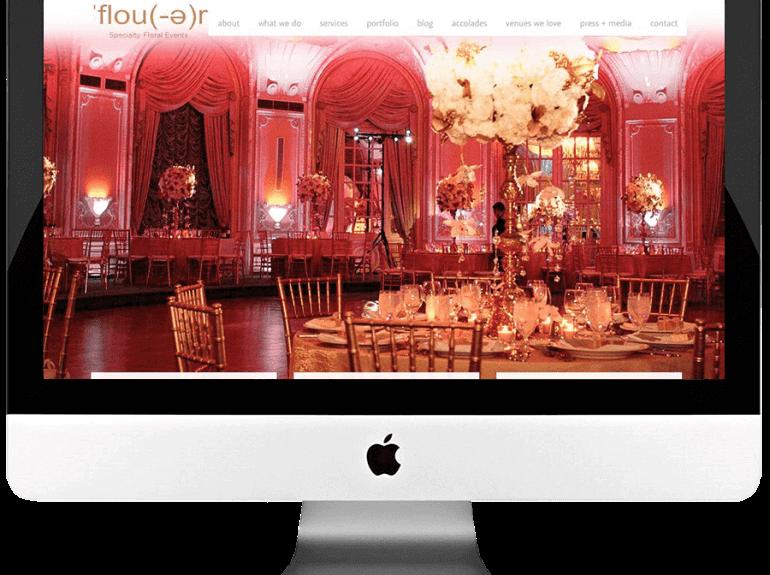 Floral Design Studio Custom Website Development