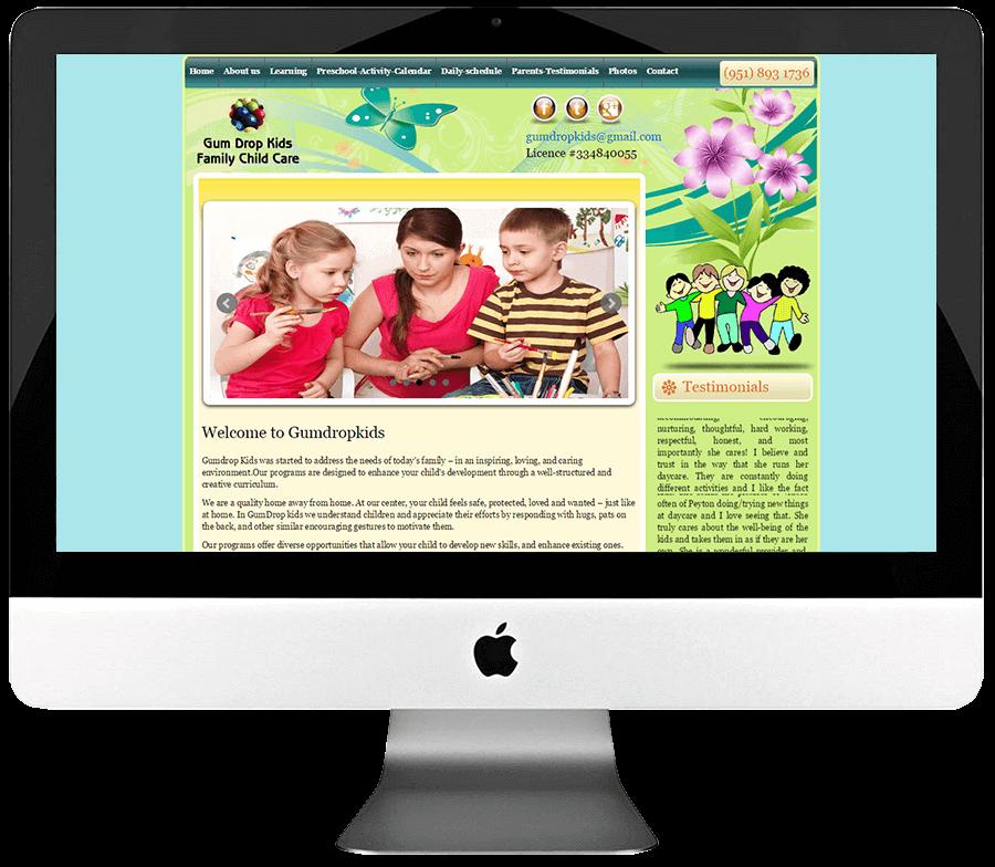 Daycare Custom WordPress Web Design
