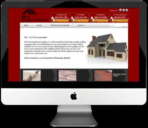 Restoration & Roofing Specialist Responsive WordPress Website Development