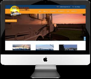 Self Storage Company Responsive WordPress Web Design