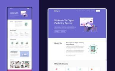 Landing Page design services sakatchewan