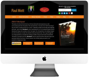 Author Responsive WordPress Website Design