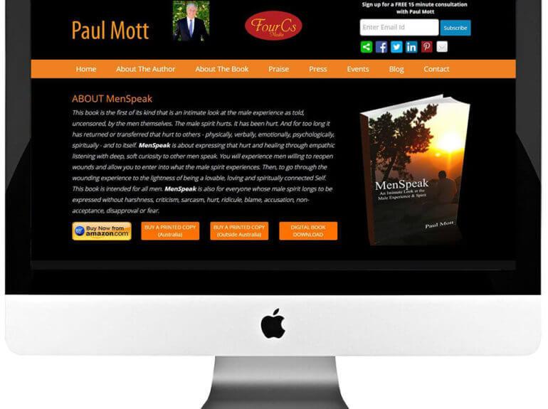 Author Responsive WordPress Website Design