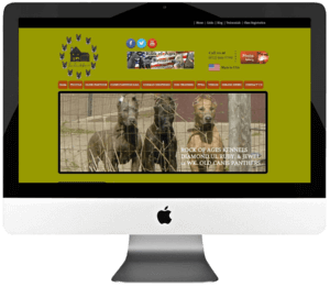 Dog Trainer Custom WordPress Website Development