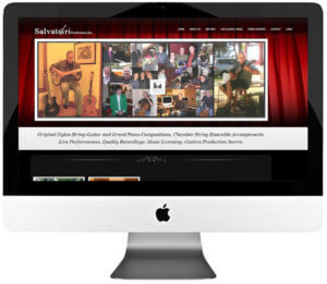 Artist WordPress Website Design