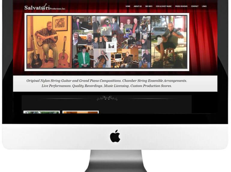 Artist WordPress Website Design