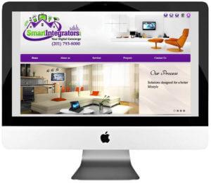 Home Automation Company Custom WordPress Website Design