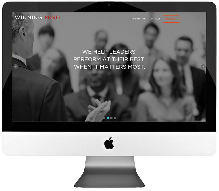 Management Consulting Responsive WordPress Website Development