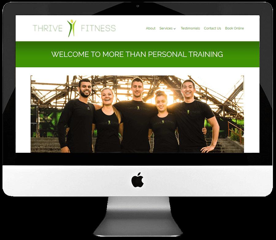 Personal Trainer Responsive WordPress Web Design
