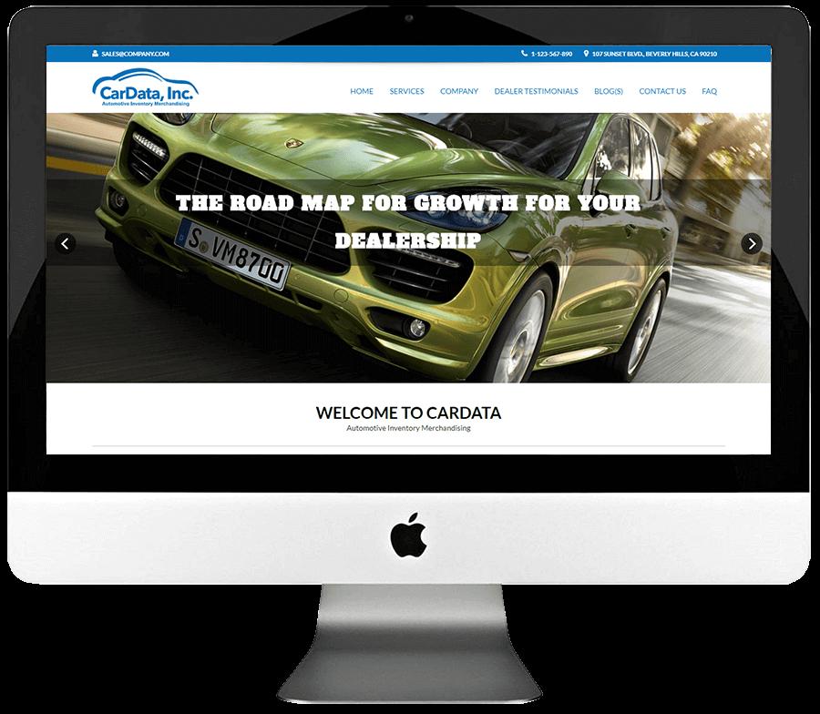 Automotive Merchandising Custom Responsive WordPress Development