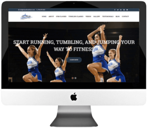 Dance Studio Responsive WordPress Web Design & Development