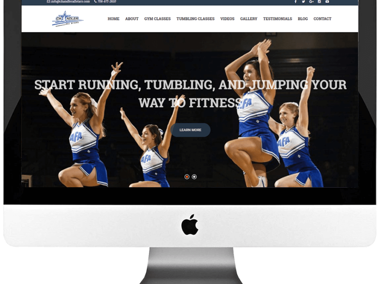 Dance Studio Responsive WordPress Web Design & Development