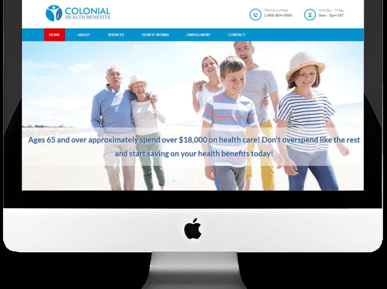 HealthCare Service Provider PSD to HTML Web Development