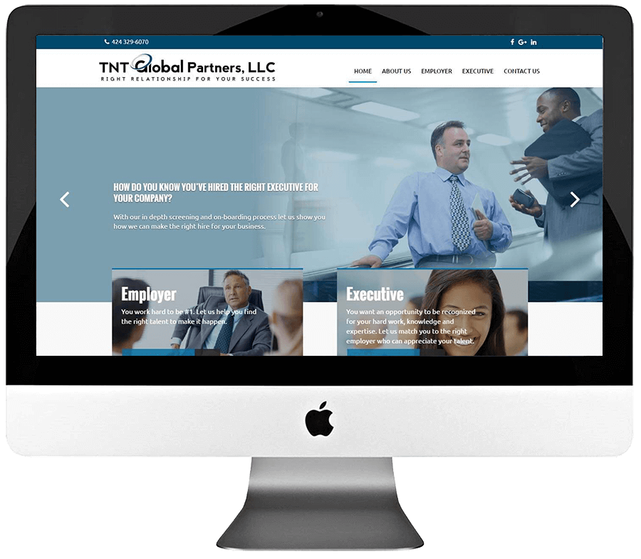 Consultant Responsive WordPress Website Design