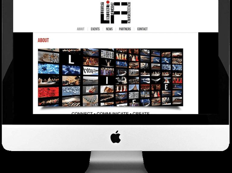 Event Management Custom WordPress Website