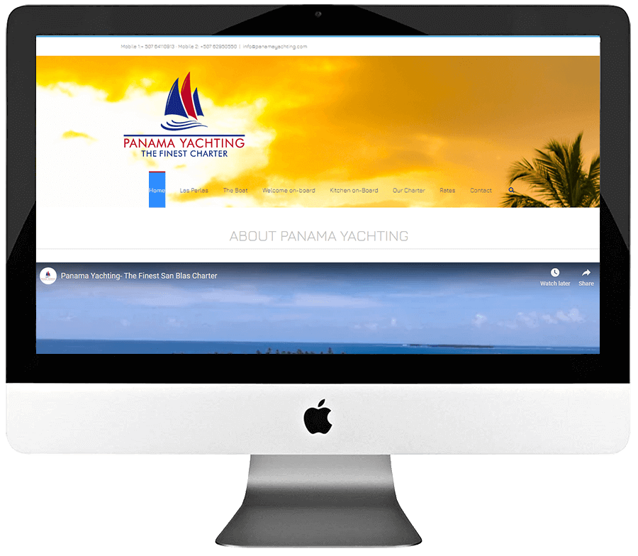 Charter Vacation Rentals WordPress Website Development