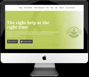 Chinese Medicine Practitioner Responsive WordPress Web Design & Development