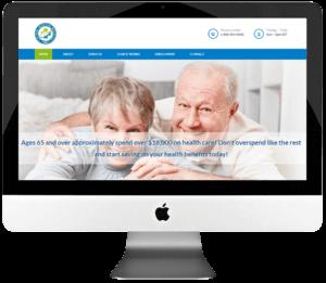 HealthCare Services Provider PSD to WordPress Web Development