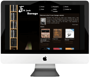 Author Custom WordPress Web Design