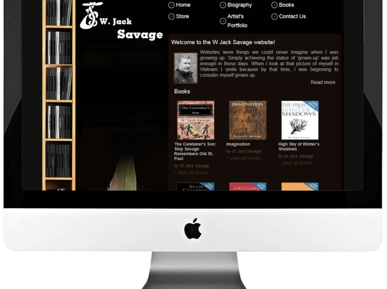 Author Custom WordPress Web Design