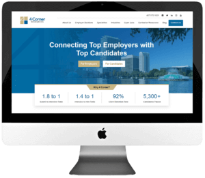 Recruitment Agency Responsive WordPress Website Development