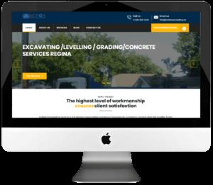 Excavating Company Responsive WordPress Website Design & Development