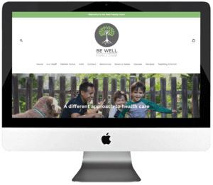 Healthcare Services Responsive Website Design