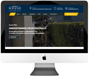 Foundation Repair Company Responsive WordPress Website Design & Development