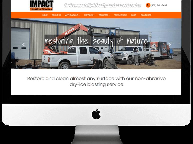 Restoration Company Responsive WordPress Web Design & Development