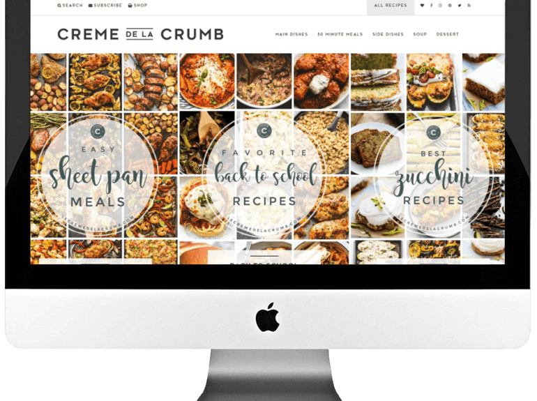 Food Blogger Responsive WordPress Blog Design & Development