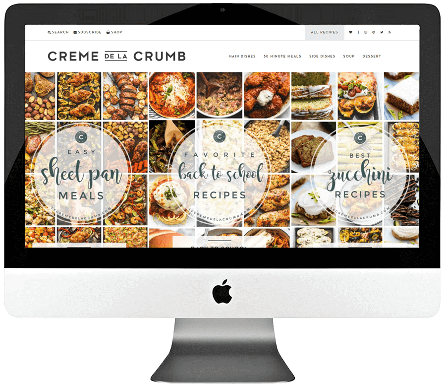 Food Blogger Responsive WordPress Blog Design & Development