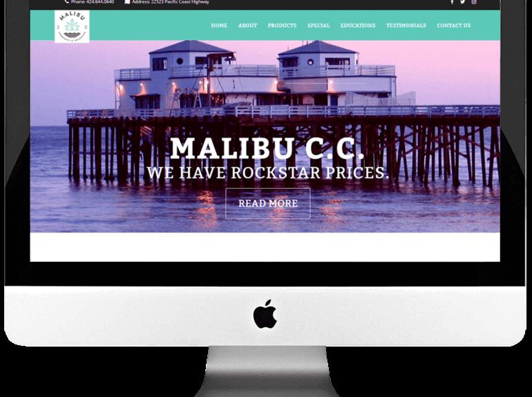 Recreational Marijuana Dispensary Responsive WordPress Website Design