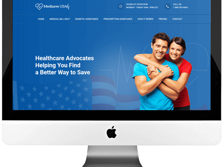 Healthcare Advocates PSD to HTML Website Development