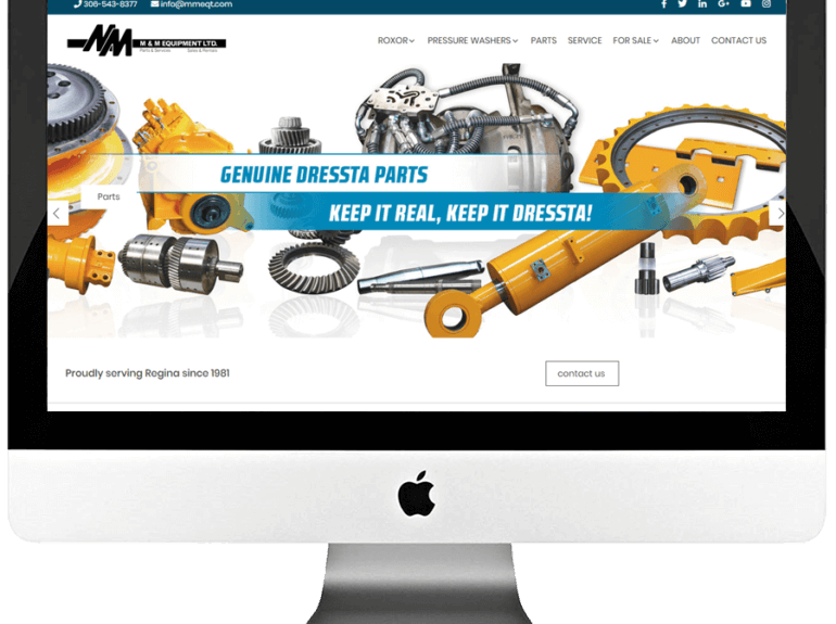 Industrial Equipment Supplier Responsive WordPress Website Design & Development