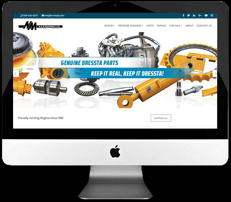 Industrial Equipment Supplier Responsive WordPress Website Design & Development