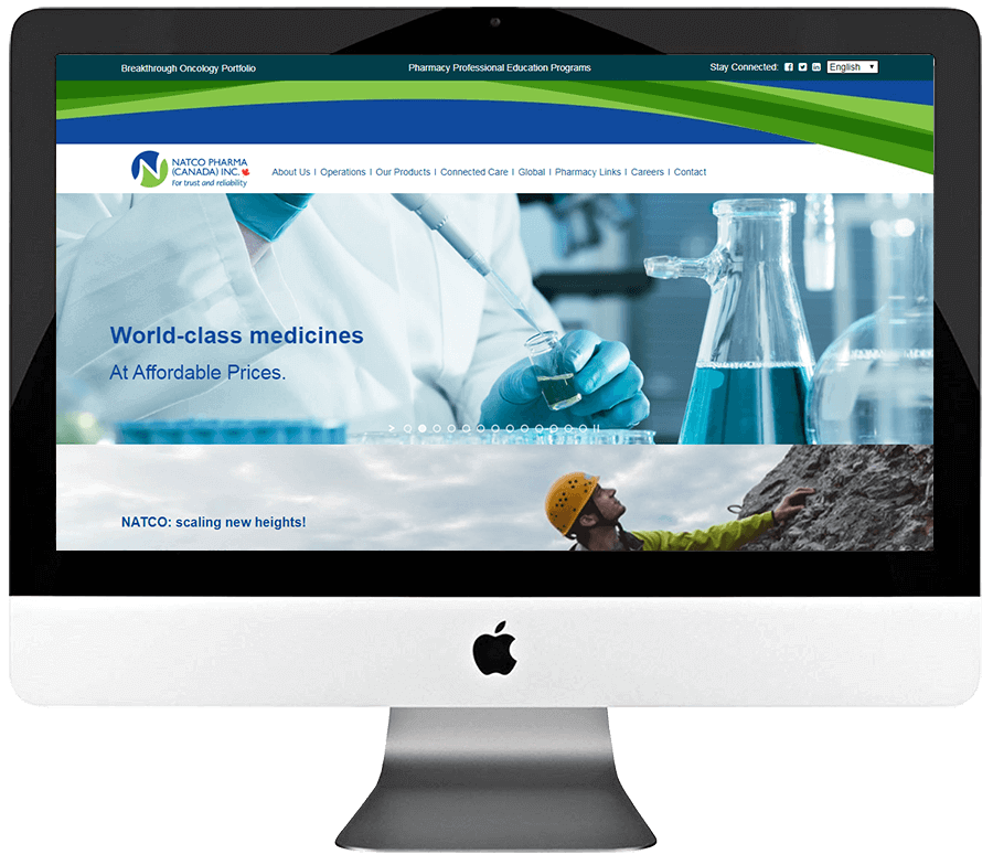 Pharmacy WordPress Website Design & Development